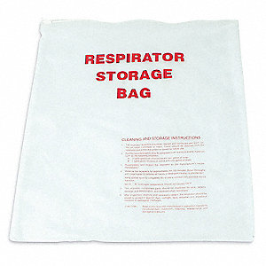 Respirator Storage Bag,PVC,16x14 In.