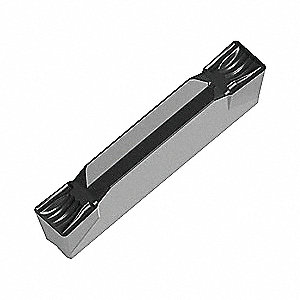 Parting and Grooving Insert,  Neutral,  Max. Grooving Width 1/4 in