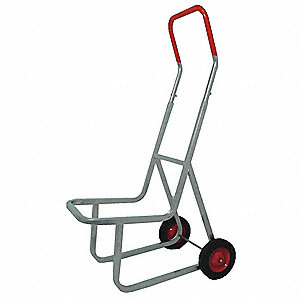 Stacking Chair Truck, 240 lb., Frame Width 10-1/2""