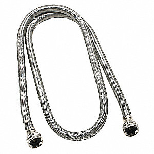 "48""L Stainless Steel Braided High Efficiency Washing Machine Connector for Washing Machine"