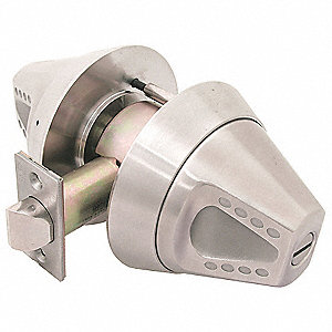 Privacy F-76 Ligature Resistant Lever Lock, Satin Stainless Finish, Heavy Duty