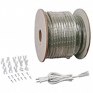 Lumapro led rope light5000k150ft120v 30f52330f523 grainger led rope light5000k150ft120v aloadofball Image collections