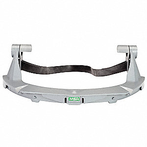 Faceshield Frame,Plastic,Gray