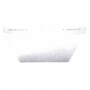 Visor,Clear,Polycarbonate
