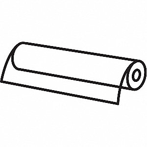 "Sheet Stck,6"", W,25 ft. L,0.060"", T"