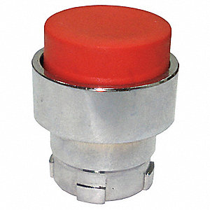 Metal Push Button Operator, Type of Operator: Extended Button, Size: 22mm, Action: Momentary Push
