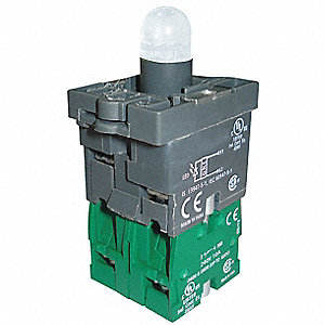 Lamp Module and Contact Block,22mm,2NO