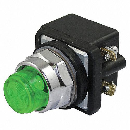 Luz Presión TerminalPlaca Indicadora de a Completa30mm120VCA VoltajeTipo de LámparaLEDConexión tBsQrdxCh