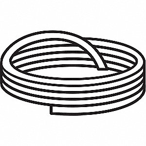 Cord Stock,White,10 ft.L,PTFE,2900 psi