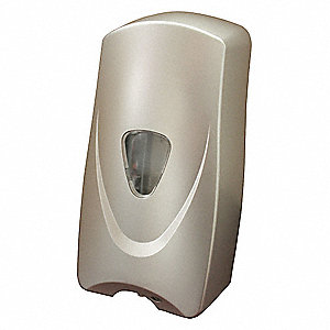 Soap Dispenser,1000mL,Metallic