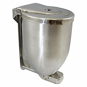 Soap Dispenser,32 oz,Silver