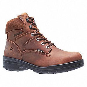 Work Boots,Steel Toe,Mn,11EW,PR