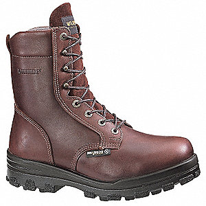 Work Boots,Steel Toe,Mn,10-1/2M,PR