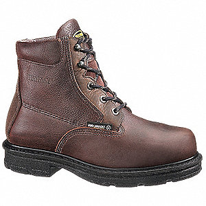 "6"" Steel Toe Work Boots, Style Number 2053"