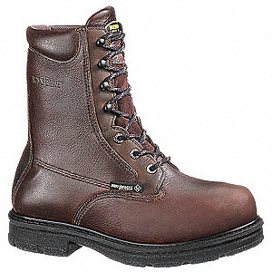 Work Boots,Steel Toe,Mn,8-1/2D,PR