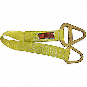 "10 ft. Triangle and Choker - Type 1 Web Sling, Nylon, Number of Plies: 2, 3"" W"