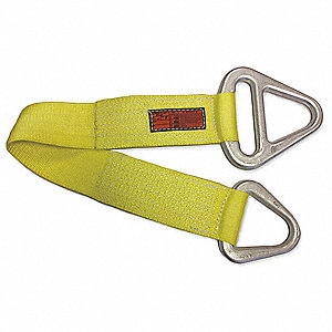 "3 ft. Triangle and Choker - Type 1 Web Sling, Nylon, Number of Plies: 1, 3"" W"