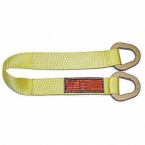 "12 ft. Triangle and Triangle - Type 2 Web Sling, Nylon, Number of Plies: 1, 2"" W"