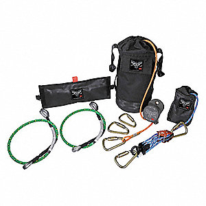 Oil-Gas Escape and Rescue Kit,310 lb.