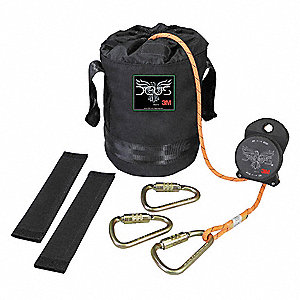 Bucket Truck Escape Kit,Orange,310 lb.