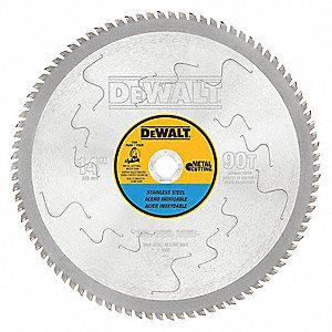 Dewalt 14 carbide stainless steel cutting circular saw blade 14 carbide stainless steel cutting circular saw blade number of teeth 90 keyboard keysfo Images