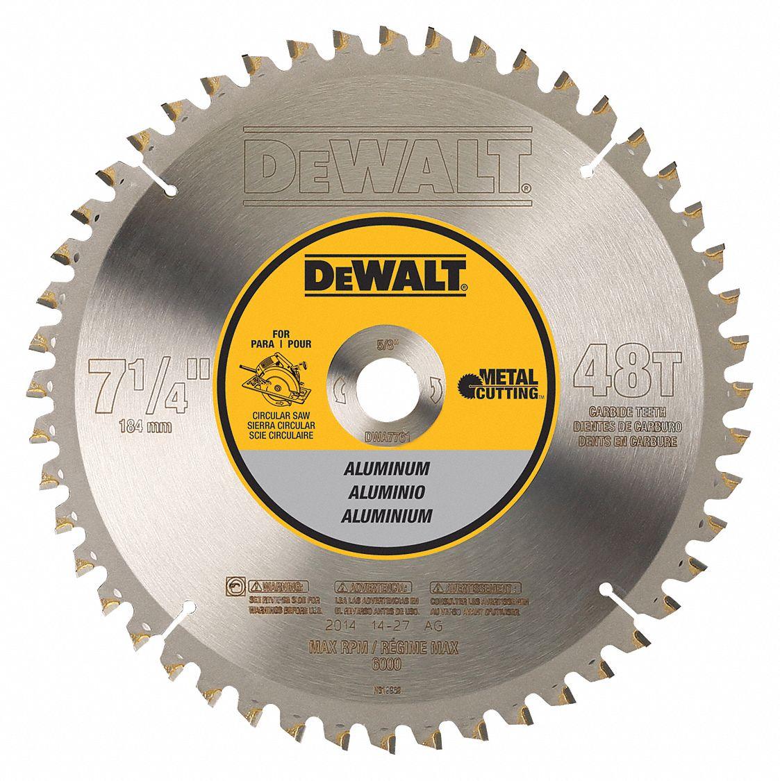 Dewalt 7 14 carbide aluminum cutting circular saw blade number of dewalt 7 14 carbide aluminum cutting circular saw blade number of teeth 48 30hj80dwa7761 grainger keyboard keysfo Images