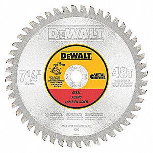Dewalt circular saw bladesteel7 14in 30hj83dwa7766 grainger circular saw bladesteel7 14in greentooth Choice Image