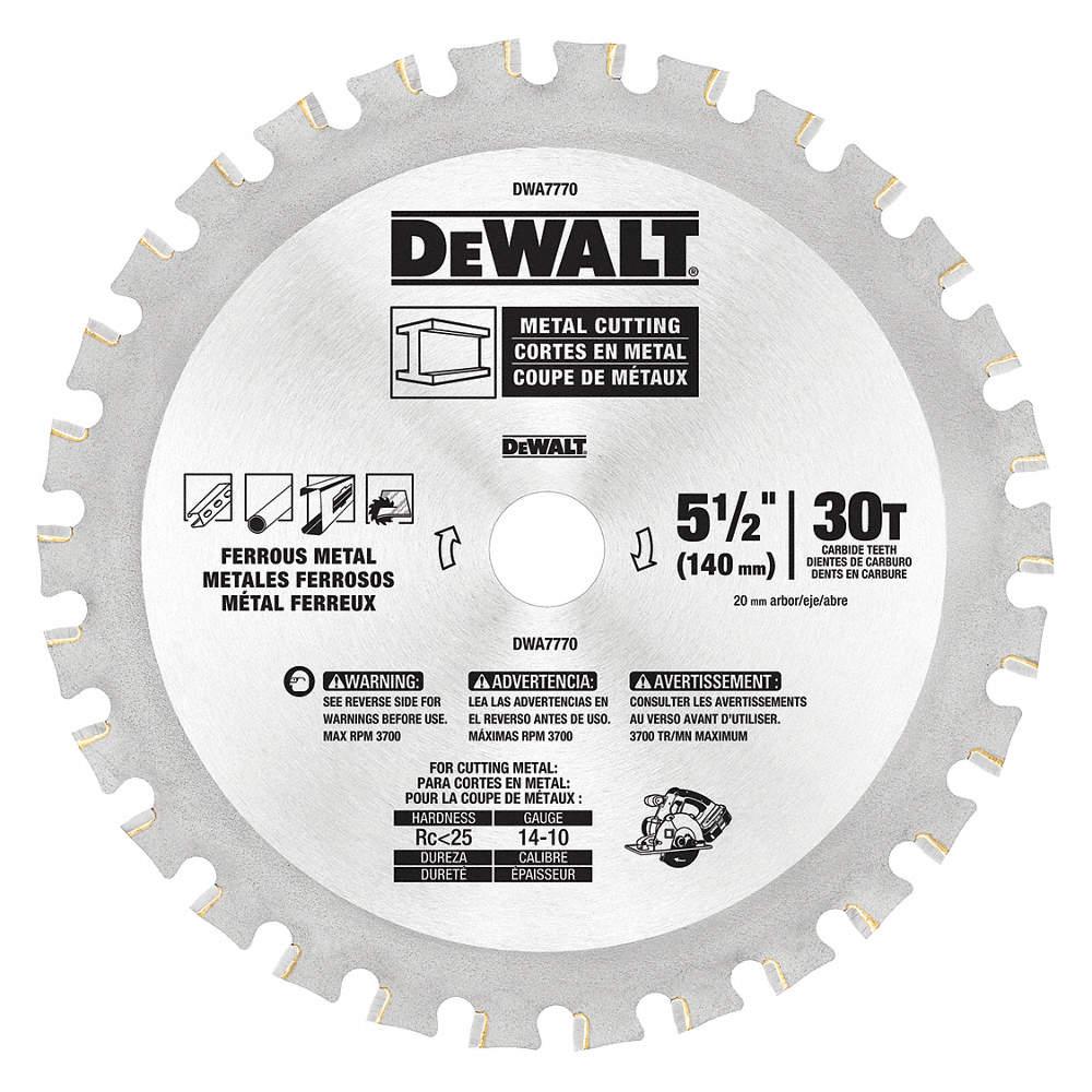 Dewalt circular saw bladesteel5 12in 30hj84dwa7770 grainger cad downloads greentooth Choice Image