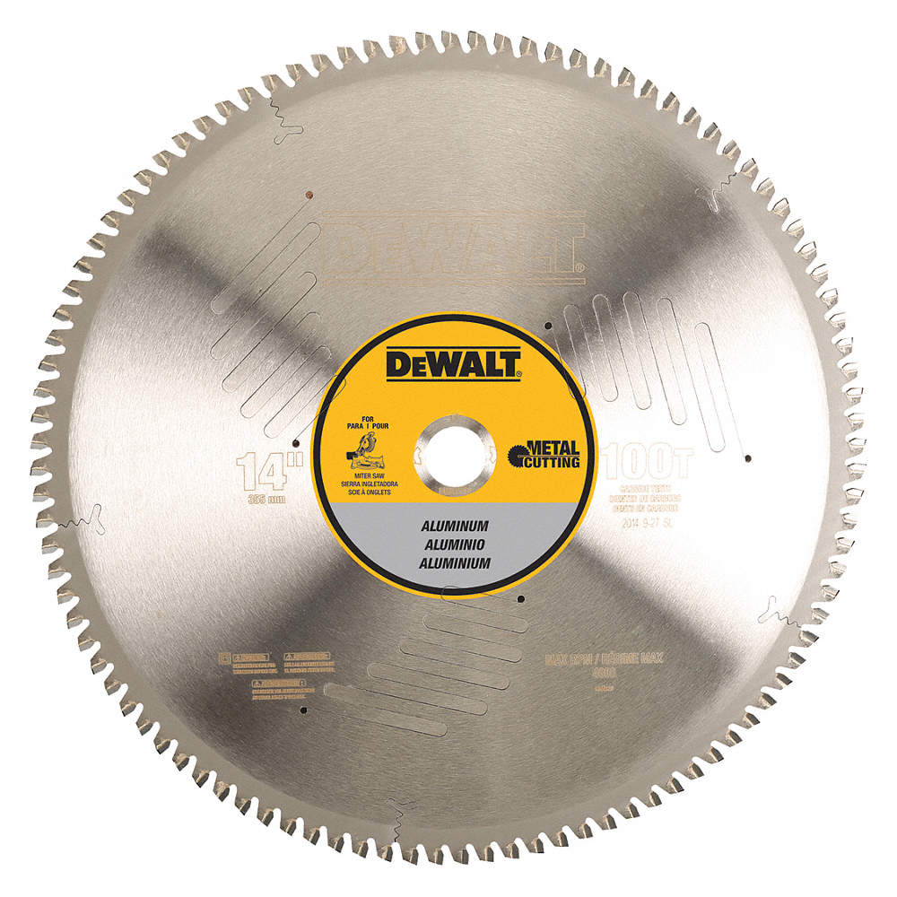 Dewalt circular saw bladealuminum14in 30hj90dwa7889 grainger zoom outreset put photo at full zoom then double click greentooth Choice Image