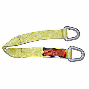 "10 ft. Triangle and Triangle - Type 2 Web Sling, Nylon, Number of Plies: 1, 6"" W"