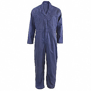 COVERALLS LONG SLEEVE NAVY 38