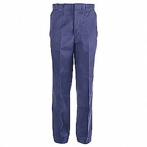 PANTS WORK POLY/COTTON NAVY 34W/34L