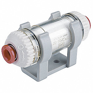 Inline Vacuum Filter with Tubo 1/4 Port Size