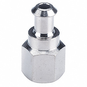 "Vacuum Pad Adaptor with Female 1/8"" NPT Port Size&#x3b; For Use With Pad Size 10 to 16mm Diameter"