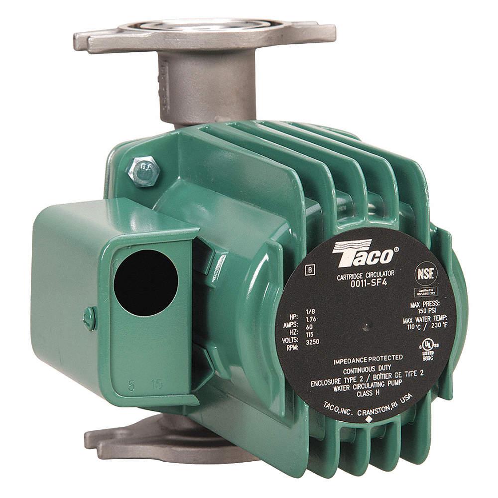 TACO 0011-SF4 Hydronic Circulating Pump,1/8 HP,115VAC