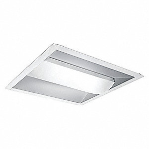 3500K LED Troffer Fixture Retrofit Kit, 32 Watts, 120 Voltage