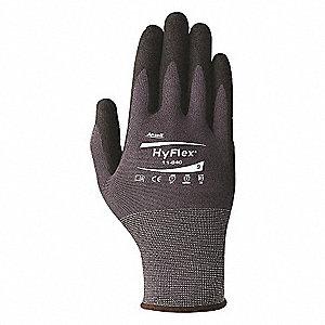 HYFLEX 15G NYL BLK NTRL GRAY SZ8