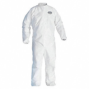 A45 COVERALL ELASTIC WRIST-ANKLE,M