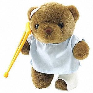 PATIENT STUFF BEAR,BROWN