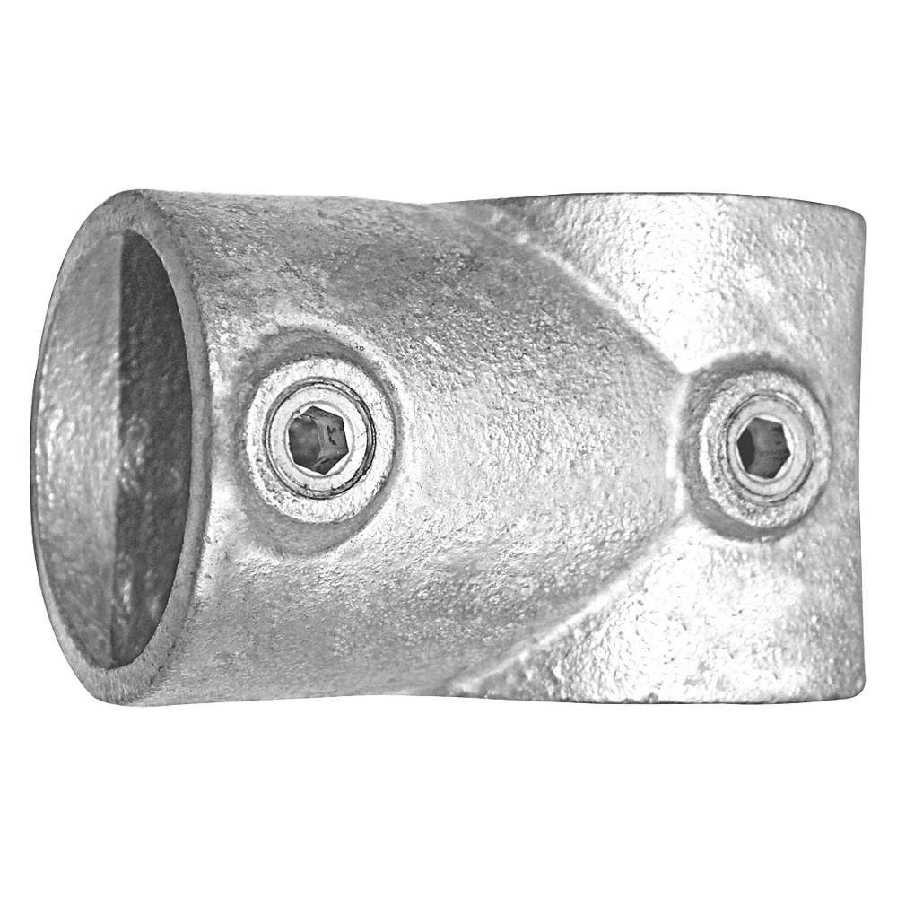 Single-Socket Tee Cast Iron Structural Pipe Fitting, Pipe Size (In): 2, 1 EA
