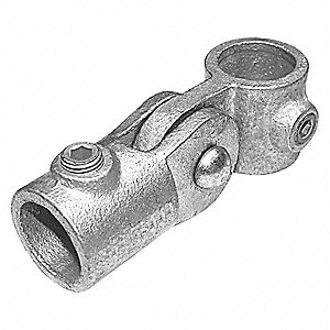 Single-Swivel Socket Cast Iron Structural Pipe Fitting, Pipe Size (In): 3/4, 1 EA