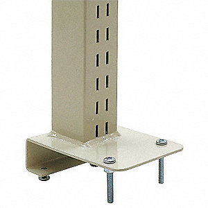 Upright Post,Steel,500 lb.,Blue,PR