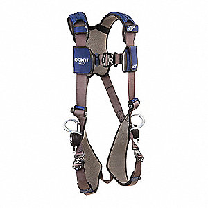ExoFit NEX™ Full Body Harness with 420 lb. Weight Capacity, Gray, L