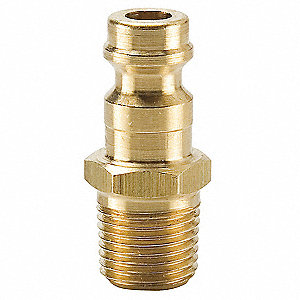 Brass Industrial Coupler Plug