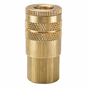 Brass Industrial Coupler Body