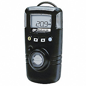 Single Gas Detector,NH3,0-400 ppm,Blk