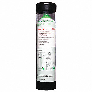 Oxygen Calibration Gas, 100L Cylinder Capacity