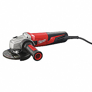 "Angle Grinder, 5"" Wheel Dia. Amps, 240VAC, 11,000 No Load RPM, Trigger Switch"