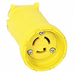 CONNECTOR 2P 3W GROUND NEMA L5-15C