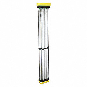 LIGHT FLUORESCENT 128 WATT PORTABLE